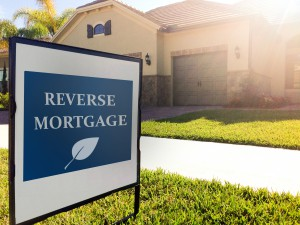 House Sign - Reverse Mortgage