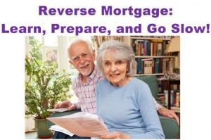 Reverse Mortgage Advice