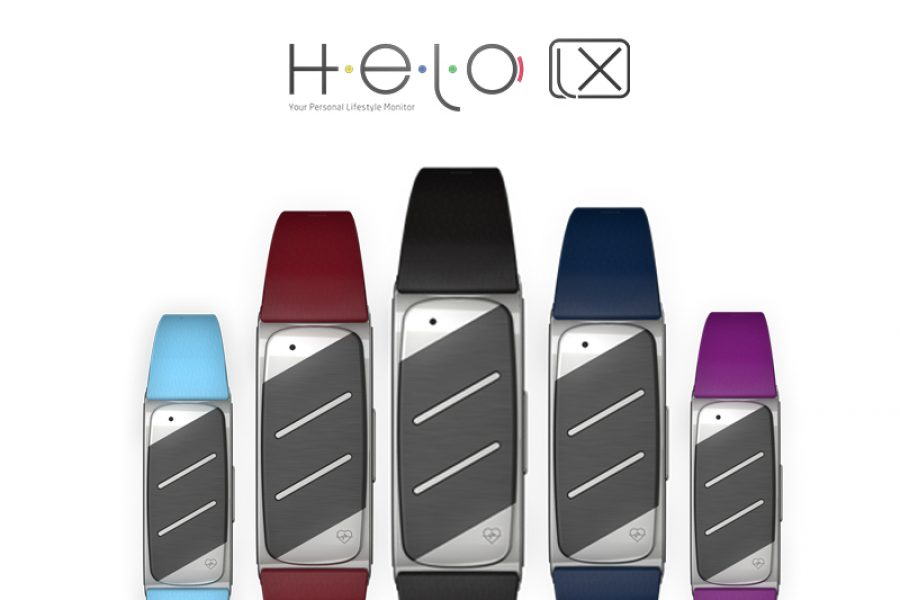Stylish HELO Colored Bands